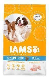 ΤΡΟΦΗ IAMS PYPPY LARGE BREEDS ΜΕ ΚΟΤΟΠΟΥΛΟ - ΓΑΛΟΠΟΥΛΑ 3KG pet shop σκυλοσ ξηρη τροφη puppy εωσ 2 ετων