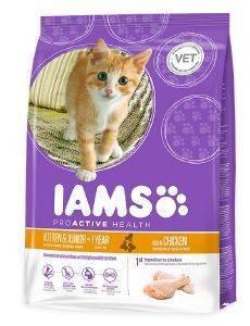 ΤΡΟΦΗ IAMS KITTEN ΜΕ ΚΟΤΟΠΟΥΛΟ - ΓΑΛΟΠΟΥΛΑ 2.55KG pet shop γατα ξηρη τροφη kitten εωσ 1 ετοσ