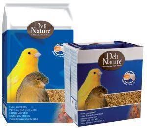 ΑΥΓΟΤΡΟΦΗ DELI NATURE ΚΙΤΡΙΝΗ ΞΗΡΗ (1KG) pet shop πτηνο τροφεσ αυγοτροφεσ