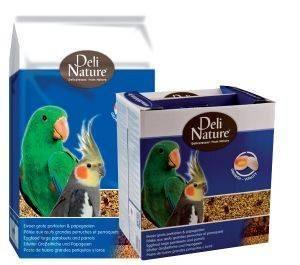 ΑΥΓΟΤΡΟΦΗ DELI NATURE ΓΙΑ ΜΕΣΑΙΟΥΣ - ΜΕΓΑΛΟΥΣ ΠΑΠΑΓΑΛΟΥΣ (800GR) pet shop πτηνο τροφεσ αυγοτροφεσ