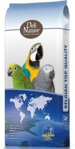 ΤΡΟΦΗ ΓΙΑ ΜΕΓΑΛΟΥΣ ΠΑΠΑΓΑΛΟΥΣ DELI NATURE (15KG) pet shop πτηνο τροφεσ τροφεσ