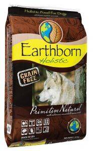 ΤΡΟΦΗ ΓΙΑ ΣΚΥΛΟ EARTHBORN HOLISTIC PRIMITIVE NATURAL GRAIN FREE 2.5KG.