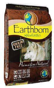 ΤΡΟΦΗ ΓΙΑ ΣΚΥΛΟ EARTHBORN HOLISTIC PRIMITIVE NATURAL GRAIN FREE 12KG