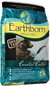 ΤΡΟΦΗ ΓΙΑ ΣΚΥΛΟ EARTHBORN HOLISTIC COASTAL CATCH GRAIN FREE 2.5KG.