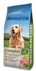 ΤΡΟΦΗ ΓΙΑ ΣΚΥΛΟ BROKATON COMPLET 23/10 20KG pet shop σκυλοσ ξηρη τροφη adult 2 6 ετων