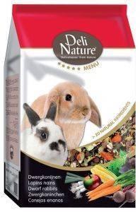 ΤΡΟΦΗ ΓΙΑ ΚΟΥΝΕΛΙΑ ΝΑΝΟΥΣ DELI NATURE 5 STAR MENU (2.5KG) pet shop τρωκτικο τροφεσ 1 3 κιλα