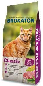 ΤΡΟΦΗ ΓΙΑ ΓΑΤΕΣ BROKATON CAT 26/10 20KG pet shop γατα ξηρη τροφη adult 1 7 ετη