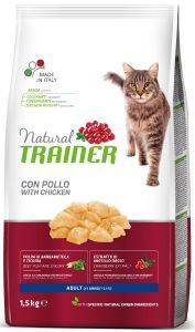 ΤΡΟΦΗ ΓΑΤΑΣ TRAINER NATURAL ADULT ΚΟΤΟΠΟΥΛΟ 1,5KG pet shop γατα ξηρη τροφη adult 1 7 ετη