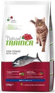 ΤΡΟΦΗ ΓΑΤΑΣ TRAINER NATURAL ADULT ΤΟΝΟΣ 1.5KG pet shop γατα ξηρη τροφη adult 1 7 ετη