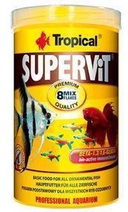 ΤΡΟΦΗ ΨΑΡΙΩΝ TROPICAL SUPERVIT 1000ML pet shop ψαρι τροφεσ τροφη ψαριου