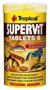 ΤΡΟΦΗ ΨΑΡΙΩΝ TROPICAL SUPERVIT TABLETS B 50ML pet shop ψαρι τροφεσ τροφη ψαριου