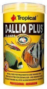 ΤΡΟΦΗ ΨΑΡΙΩΝ TROPICAL D-ALLIO PLUS 500ML pet shop ψαρι τροφεσ τροφη ψαριου