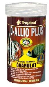 ΤΡΟΦΗ ΨΑΡΙΩΝ TROPICAL D-ALLIO PLUS GRANULAT 250ML pet shop ψαρι τροφεσ τροφη ψαριου