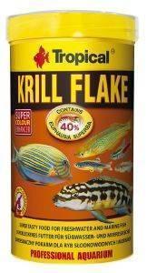 ΤΡΟΦΗ ΨΑΡΙΩΝ TROPICAL KRILL FLAKE 500L pet shop ψαρι τροφεσ τροφη ψαριου