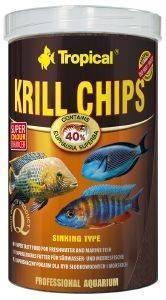 ΤΡΟΦΗ ΨΑΡΙΩΝ TROPICAL KRILL CHIPS 250ML pet shop ψαρι τροφεσ τροφη ψαριου