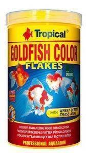 ΤΡΟΦΗ ΨΑΡΙΩΝ TROPICAL GOLDFISH COLOUR 500ML pet shop ψαρι τροφεσ χρυσοψαρα κοι