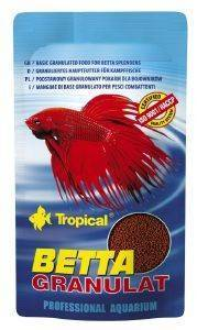 ΤΡΟΦΗ ΨΑΡΙΩΝ TROPICAL BETTA GRANULAT 10GR