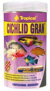 ΤΡΟΦΗ ΨΑΡΙΩΝ TROPICAL CICHLID GRAN 250ML