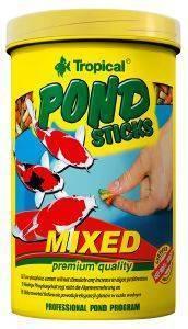 ΤΡΟΦΗ TROPICAL POND STICKS MIX 1000ML pet shop ψαρι τροφεσ τροφη ψαριου