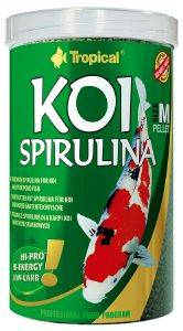 ΤΡΟΦΗ TROPICAL KOI SPIRULINA PELLET SIZE M 1000ML