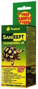 ΣΚΕΥΑΣΜΑ TROPICAL ΓΙΑ ΧΕΛΩΝΕΣ SANIREPT 15ML pet shop ερπετο τροφεσ χελωνεσ