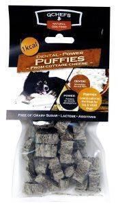 ΟΔΟΝΤΙΚΟ ΣΝΑΚ QCHEFS PUFFIES 65GR 25ΤΜΧ pet shop σκυλοσ κοκκαλα λιχουδιεσ οδοντικα sticks