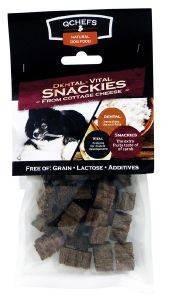 ΟΔΟΝΤΙΚΟ ΣΝΑΚ QCHEFS VITAL SNACKIES 65GR 25ΤΜΧ pet shop σκυλοσ κοκκαλα λιχουδιεσ οδοντικα sticks