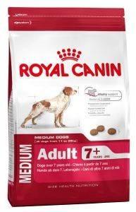 ΤΡΟΦΗ ΣΚΥΛΟΥ ROYAL CANIN MEDIUM ADULT 7+ 15KG pet shop σκυλοσ ξηρη τροφη senior ανω των 6 ετων