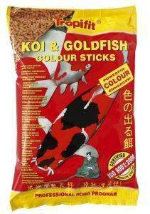 ΤΡΟΦΗ TROPICAL KOI & GOLDFISH COLOUR STICKS ΣΑΚΟΥΛΑΚΙ 1000ML