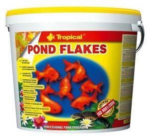 ΤΡΟΦΗ ΨΑΡΙΩΝ TROPICAL POND FLAKES 5L pet shop ψαρι τροφεσ τροφη ψαριου