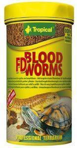 ΤΡΟΦΗ ΕΡΠΕΤΩΝ TROPICAL FD BLOOD WORMS 100ML pet shop ερπετο τροφεσ σαυρεσ