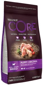ΤΡΟΦΗ ΣΚΥΛΟΥ WELLNESS CORE PUPPY ΓΑΛΟΠΟΥΛΑ - ΚΟΤΟΠΟΥΛΟ 1.5KG pet shop σκυλοσ ξηρη τροφη puppy εωσ 2 ετων