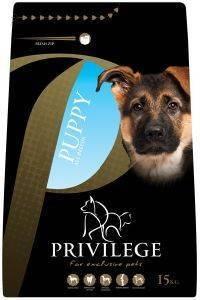 ΤΡΟΦΗ ΣΚΥΛΟΥ PRIVILEGE PUPPY ALL BREEDS ΚΟΤΟΠΟΥΛΟ 15KG pet shop σκυλοσ ξηρη τροφη puppy εωσ 2 ετων