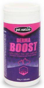 ΒΙΤΑΜΙΝΕΣ PET NATURA DERMA BOOST 60GR pet shop σκυλοσ ξηρη τροφη συμπληρωματα διατροφησ