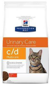 ΤΡΟΦΗ ΓΑΤΑΣ HILL'S PRESCRIPTION DIET C/D MULTICARE URINARY CARE ΚΟΤΟΠΟΥΛΟ 1.5KG