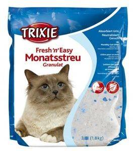ΑΜΜΟΣ ΓΑΤΑΣ TRIXIE FRESH AND EASY 3.8L pet shop γατα αμμοσ κρυσταλλικεσ