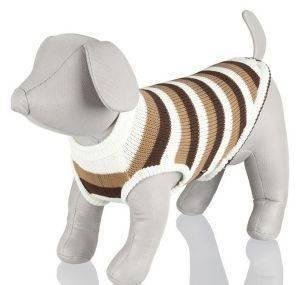 ΜΠΛΟΥΖΑ TRIXIE ΠΛΕΚΤΟ HAMILTON ΡΙΓΕ M 50 CM pet shop σκυλοσ ενδυση μπλουζεσ