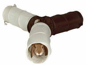 ΤΟΥΝΕΛ TRIXIE ΓΙΑ ΚΟΥΝΕΛΙΑ ΔΙΑΜΕΤΡΟΥ 18Χ47CM pet shop τρωκτικο αξεσουαρ κλουβιου τουνελ