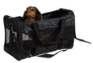ΤΣΑΝΤΑ TRIXIE ΜΕΤΑΦΟΡΑΣ ΣΚΥΛΟΥ ΜΑΥΡΗ 30Χ30Χ54CM pet shop σκυλοσ ειδη μεταφορασ τσαντεσ μεταφορασ