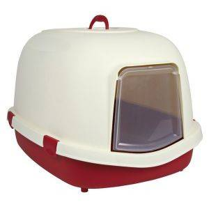 ΤΟΥΑΛΕΤΑ TRIXIE PRIMO XL ΜΕ ΚΑΠΑΚΙ ΜΠΟΡΝΤΩ 71X56Χ47CM pet shop γατα υγιεινη ασφαλεια τουαλετεσ