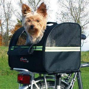 ΤΣΑΝΤΑ TRIXIE ΜΕΤΑΦΟΡΑΣ ΠΟΔΗΛΑΤΟΥ ΝΑΫΛΟΝ 35Χ28Χ29CM pet shop σκυλοσ ειδη μεταφορασ καλαθια ποδηλατου