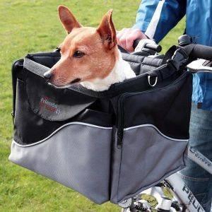 ΤΣΑΝΤΑ TRIXIE ΜΕΤΑΦΟΡΑΣ ΠΟΔΗΛΑΤΟΥ ΝΑΫΛΟΝ DE LUXE 43Χ26Χ6CM pet shop σκυλοσ ειδη μεταφορασ καλαθια ποδηλατου