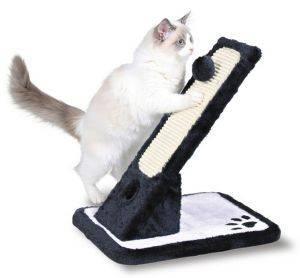 ΝΥΧΟΔΡΟΜΙΟ TRIXIE ΜΑΥΡΟ/ΑΣΠΡΟ 30Χ42X40CM pet shop γατα νυχοδρομια σανιδεσ