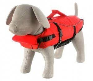 ΣΩΣΙΒΙΟ ΣΚΥΛΩΝ TRIXIE MEDIUM 44CM RED BLACK pet shop σκυλοσ ασφαλεια σωσιβια