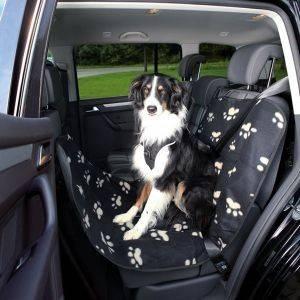 ΚΑΛΥΜΜΑ TRIXIE ΚΑΘΙΣΜΑΤΟΣ ΑΥΤΟΚΙΝΗΤΟΥ BLACK BEIGE 65X145CM pet shop σκυλοσ ασφαλεια καλυμματα