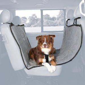ΚΑΛΥΜΜΑ TRIXIE ΠΙΣΩ ΚΑΘΙΣΜΑΤΟΣ ΑΥΤΟΚΙΝΗΤΟΥ ΜΑΥΡΟ ΓΚΡΙ 145X160CM pet shop σκυλοσ ασφαλεια καλυμματα