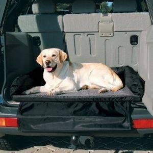 ΚΑΛΥΜΜΑ TRIXIE ΣΤΡΩΜΑ ΣΚΥΛΟΥ ΑΥΤΟΚΙΝΗΤΟΥ ΜΑΥΡΟ ΓΚΡΙ 95X75CM pet shop σκυλοσ ασφαλεια καλυμματα