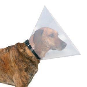 ΠΡΟΣΤΑΤΕΥΤΙΚΟ ΚΟΛΛΑΡΟ ΕΛΙΣΑΒΕΤΙΑΝΟ TRIXIE ΓΙΑ ΕΓΧΕΙΡΗΣΕΙΣ L-XL pet shop σκυλοσ ασφαλεια πρωτεσ βοηθειεσ