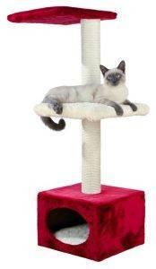 ΝΥΧΟΔΡΟΜΙΟ TRIXIE ELENA ΚΟΚΚΙΝΟ/ΜΠΕΖ 37X37Χ109CM pet shop γατα νυχοδρομια φωλιεσ