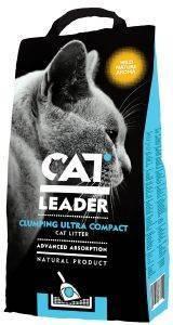 ΑΜΜΟΣ CAT LEADER ΣΥΓΚΟΛΛΗΤΙΚΗ ΜΕ ΑΡΩΜΑ ΑΓΡΙΑΣ ΦΥΣΗΣ 10L pet shop γατα αμμοσ συγκολλητικεσ